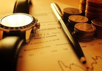 Money and Financial Data - Finance Concept